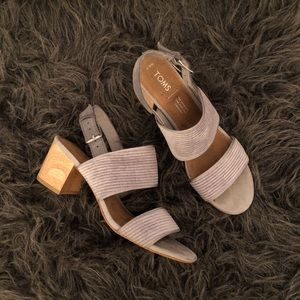 Toms heeled sandals